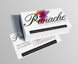 Panache Atlanta Events Business Cards