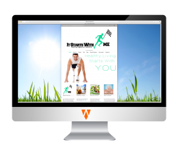 It Starts With Me Fitness Website
