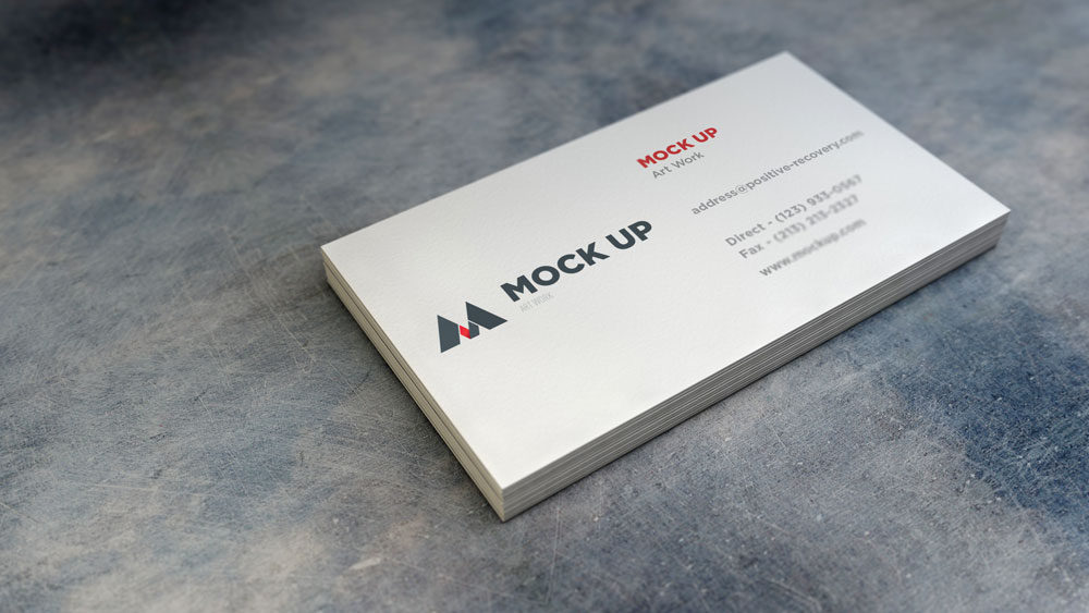 16 pt cardstock Business Cards |